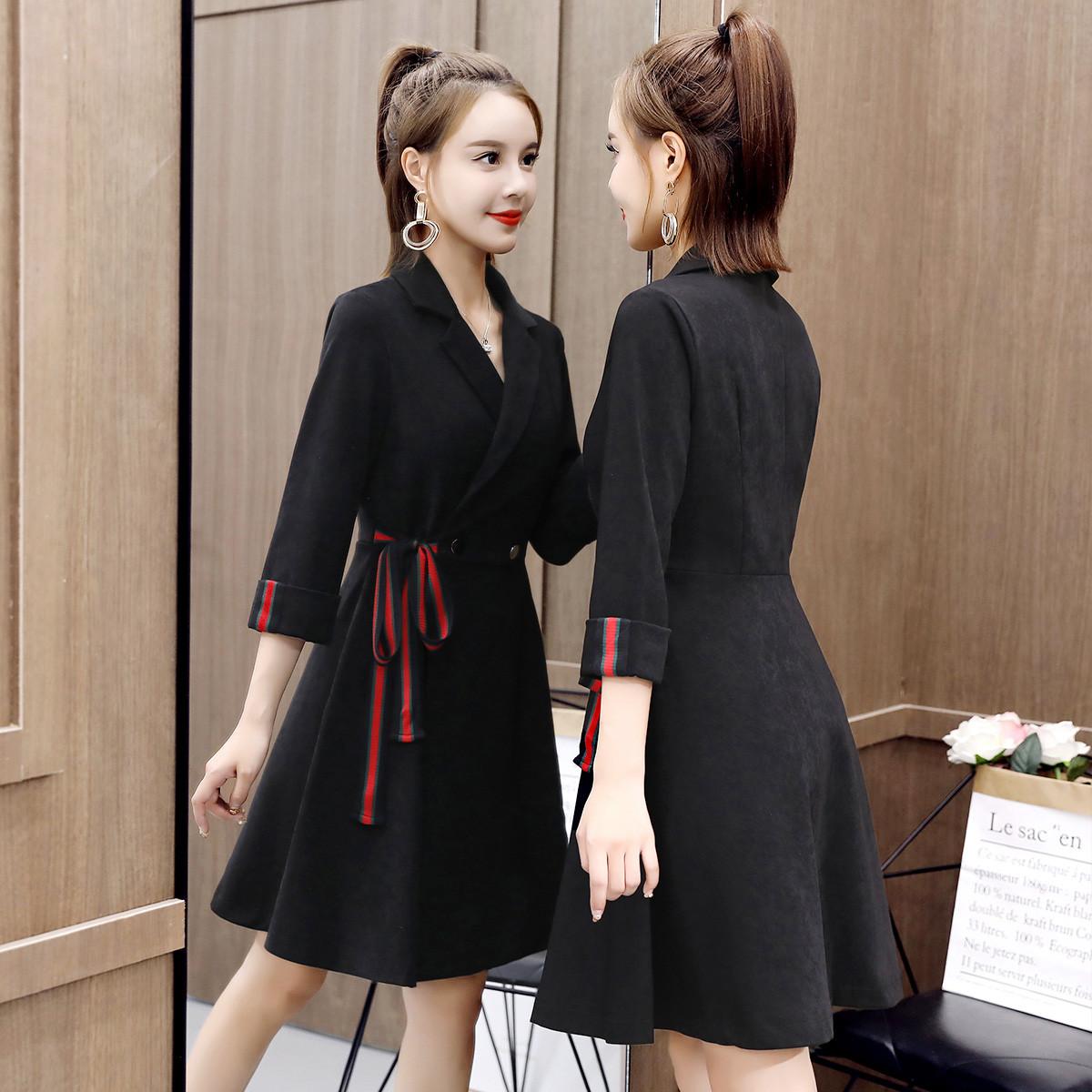 唯依◆沫系列品牌折扣女装连衣裙式外套女款中长款风衣11.2冬