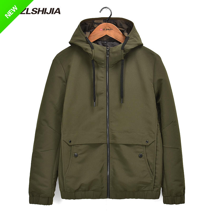 Warwolf family mens jacket spring 2019 new fashion brand hooded camouflage jacket trend 57108082