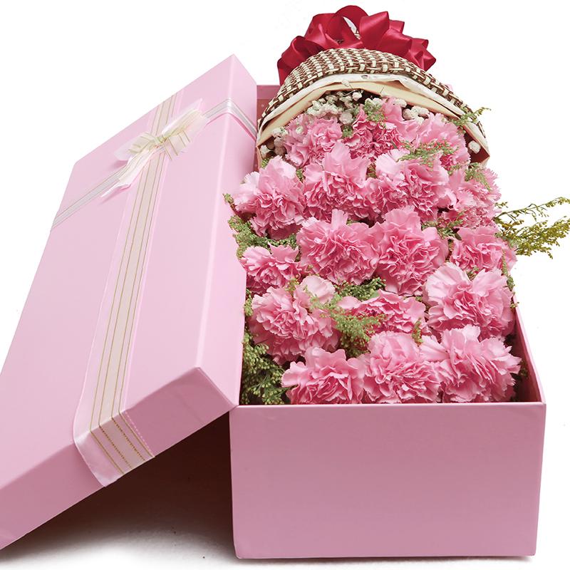 香水百合鲜花康乃馨花束天津同城速递和平河东塘沽北辰宝坻送花店
