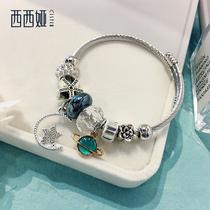 气质手镯百搭手链少女ins小众设计韩版简约个姓手环手饰品西西娅