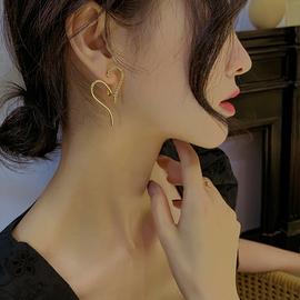 西西娅耳钉韩国气质网红女夸张耳饰纯银银针爆款耳环2020年新款潮