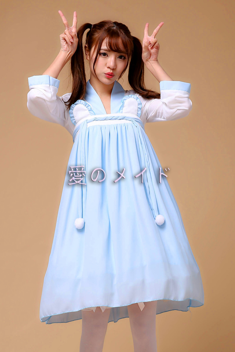Soft girl style Chinese style Han suit classic costume Maid Dress Lolita Dress