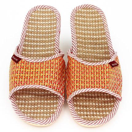 居家防滑软底棉麻日式春夏亚麻拖鞋