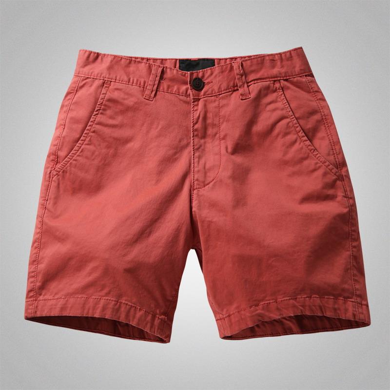 夏天休闲短裤弹力工装裤潮中裤多彩色三分裤沙滩裤大裤衩四分露膝