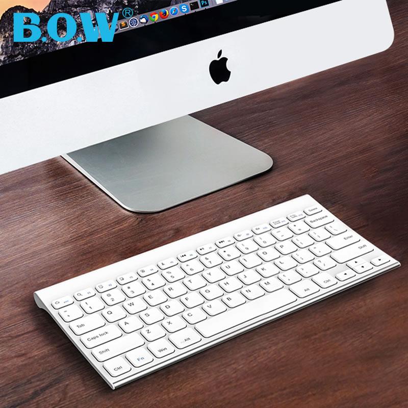 bow航世超薄充电无线苹果小键盘