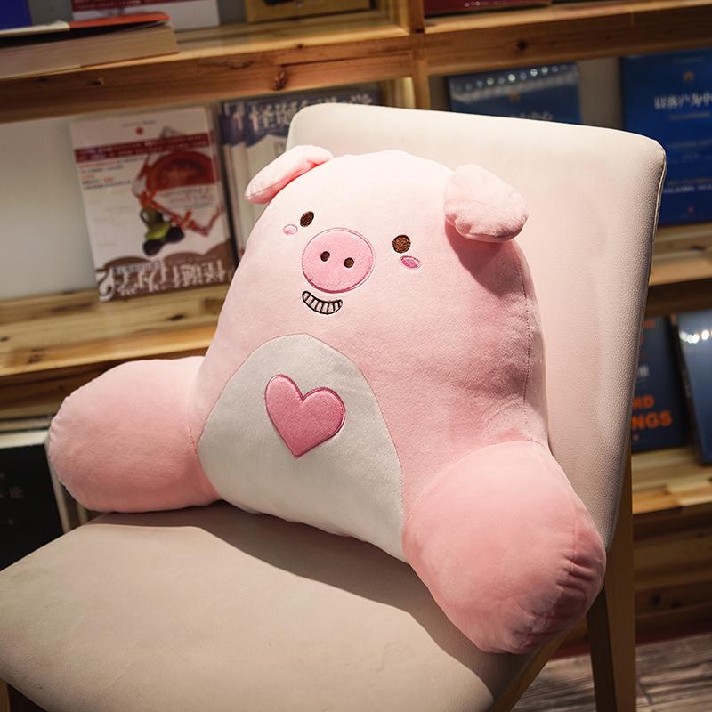 车座腰枕靠垫孕妇靠枕办公室护腰抱枕上班办工室椅子靠背可爱11-09新券