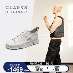 clarks其乐男鞋经典情侣款三瓣鞋休闲运动小白鞋老爹鞋复古跑步鞋