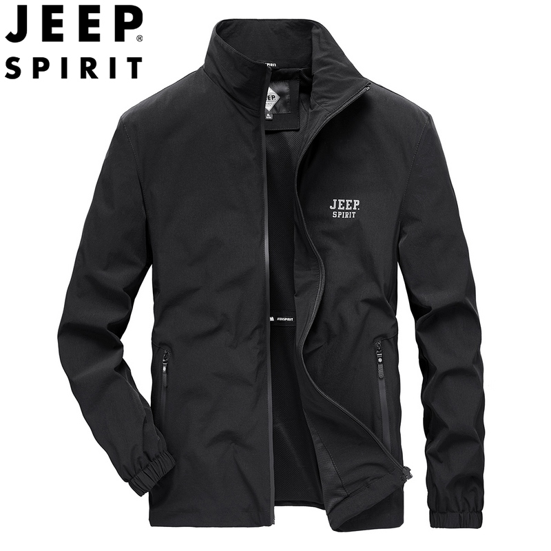Jeep / Jeep 2020 spring new coat men's business leisure spring Jacket Top loose large men's wear