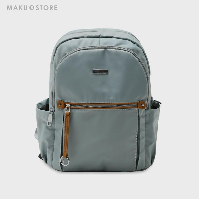 MAKU大容量双肩包女2019新款时尚休闲旅行包学生书包