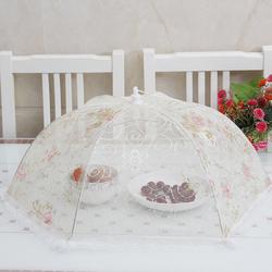 饭桌盖菜罩家用可折叠餐桌罩桌盖防蝇罩遮菜罩剩菜罩食物罩菜罩伞