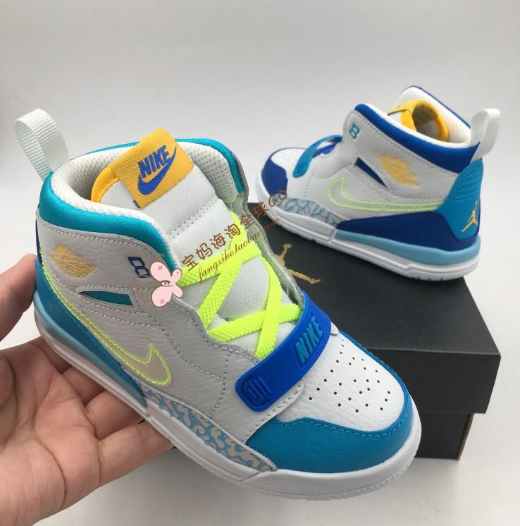美国购回现货正品jordan男女童童鞋
