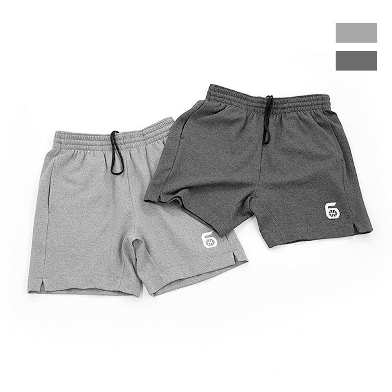 Zone 6 Jane series high quality cotton embroidery logo embroidery basketball shorts for men