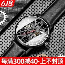 邦顿手表男机械表男表全自动镂空黑科技男士霸气运动手表国产腕表