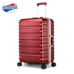 美旅拉桿箱鋁框密碼28寸行李箱結實耐用厚20寸旅行萬向輪登機BX1