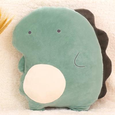 恐龙玩偶可爱生日礼物毛绒玩具床上睡觉被子两用软抱枕小公仔娃娃