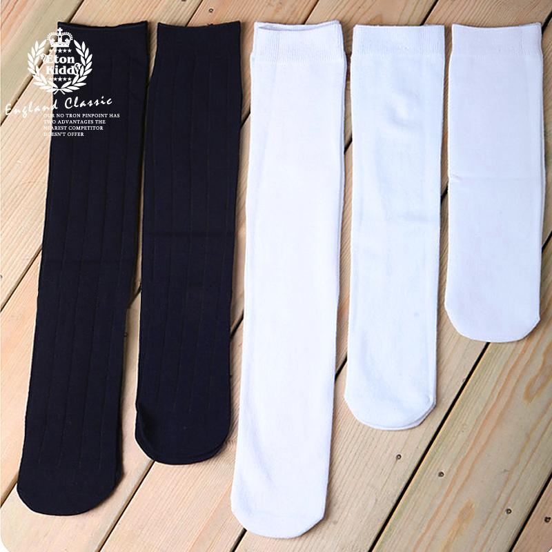 Итон Kidd детей носки девушка хлопок трубки носки носок детей летом в белых носках мальчик носок 09W002