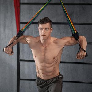 健身男弹力带胸肌训练器材弹力绳