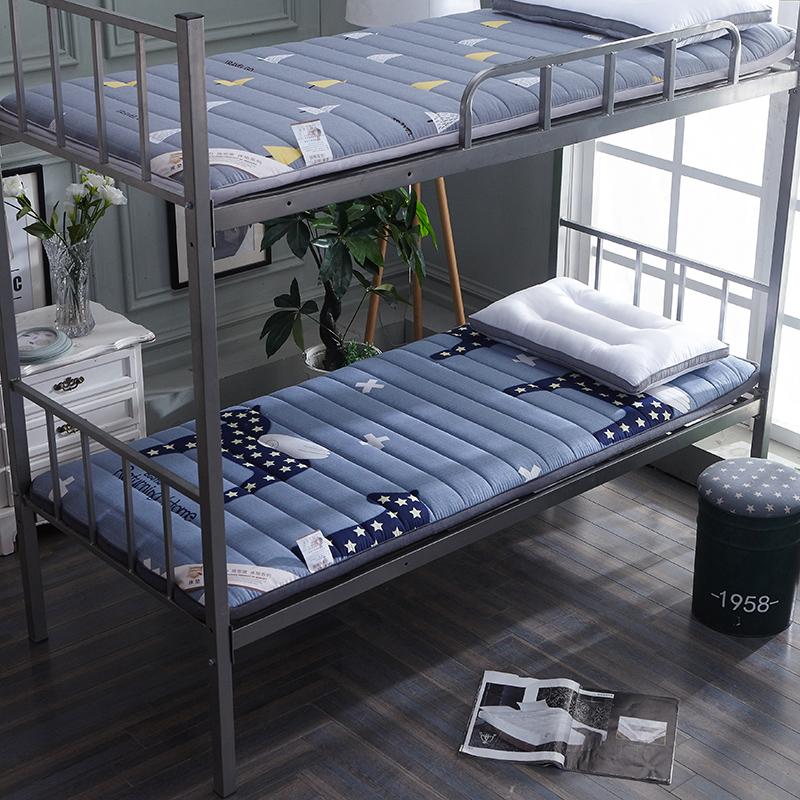(用129元券)加厚学生0.9 m床折叠榻榻米床垫
