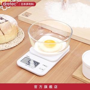 dretec多利科日本家用高精度厨房秤
