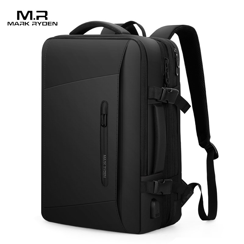 Expansion backpack for men business leisure large capacity business trip luggage 17 inch Laptop Bag