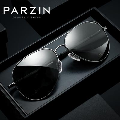 帕森太阳镜男士潮流偏光太阳眼镜开车专用墨镜时尚经典炫彩蛤蟆镜