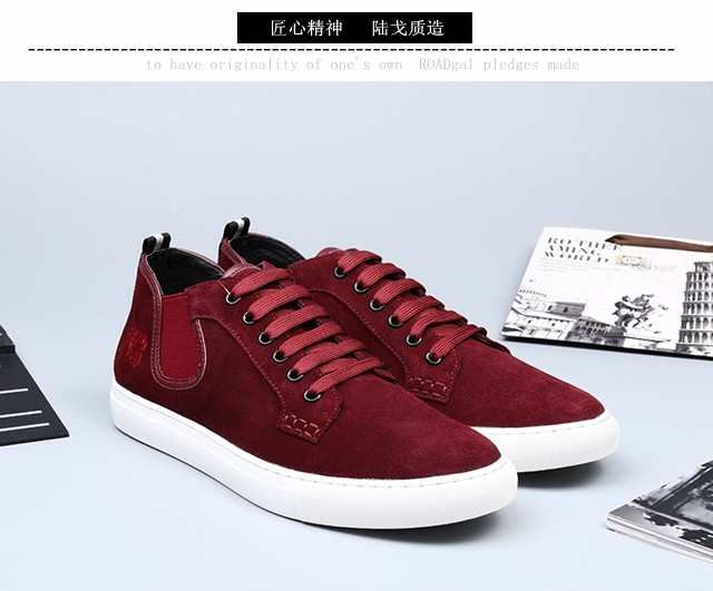 2018 new authentic Lugo roadgal Gangdi mens low top casual shoes Goodyear Leather Mens shoes trend