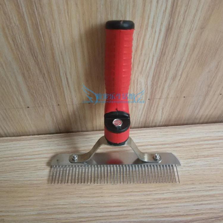 Pet dog comb golden hair medium and large dog rake comb Samo long hair dog comb teddy bear comb comb comb pack mail