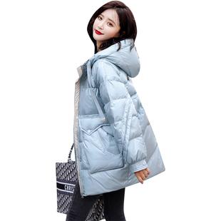 冬季棉衣女潮ins超火2020新款韓版寬鬆短款加厚連帽棉服棉襖外套