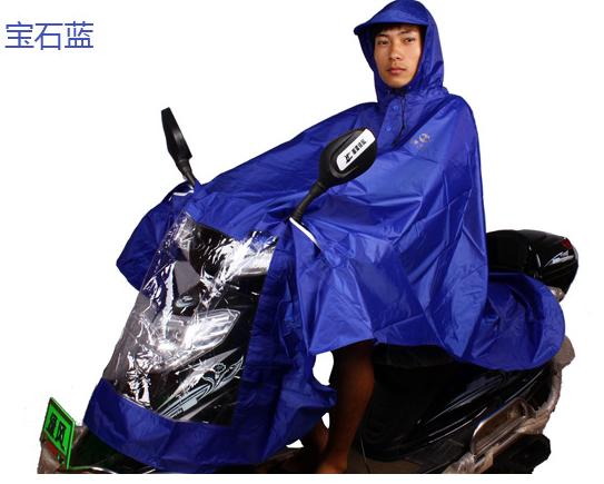 天堂N210摩托车雨披薄款雨披加长加大电动电瓶车雨衣通用男女雨披