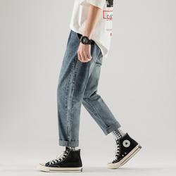 19年爆款 舒适直筒 休闲牛仔裤男 19K082/特P60 最低限价78