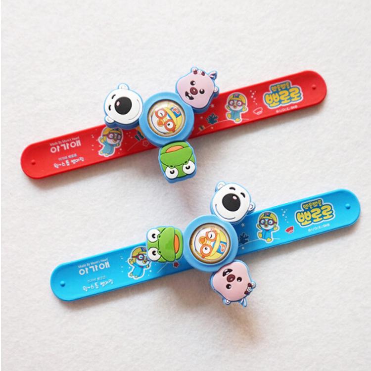 韩国正品宝露露成人随身旋转驱蚊扣婴儿童宝宝驱蚊手环