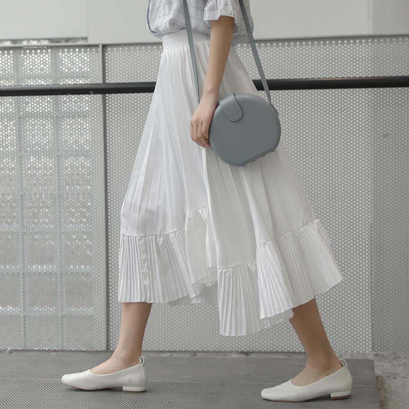 迪悠2019夏季新款松紧腰韩版半身裙(用56元券)