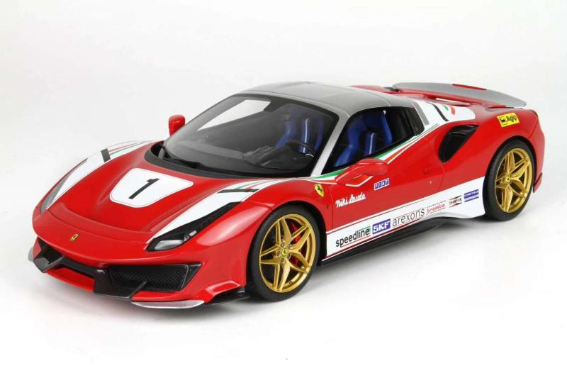 BBR 1 / 18 Ferrari 488 pista (Niki Lauda) resin car model