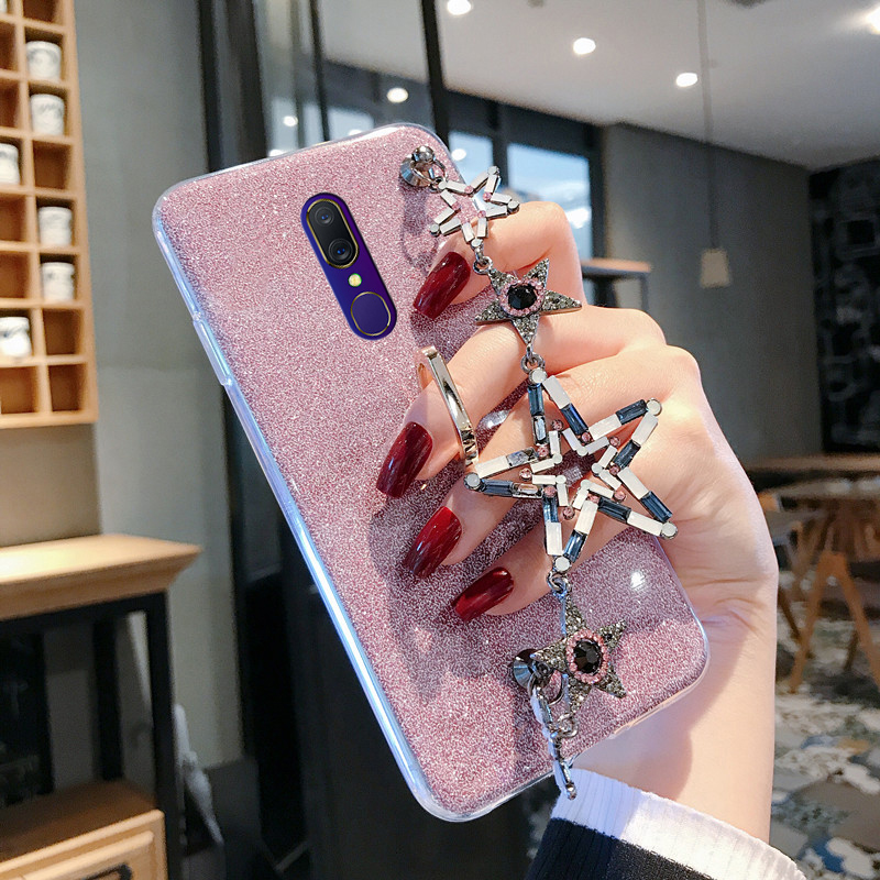 OPPOA9手机壳A9X手链腕带保护套K3网红潮壳realme x女款realm满15元可用3元优惠券