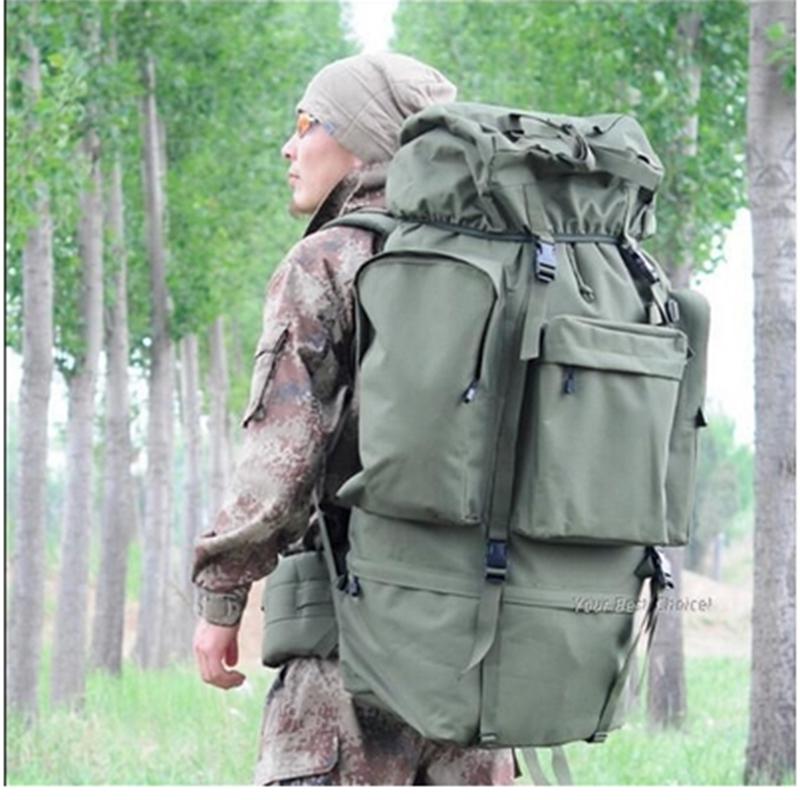 旅行背包旅游大容量背囊迷彩行李包户外徒步登山包双肩包大背包