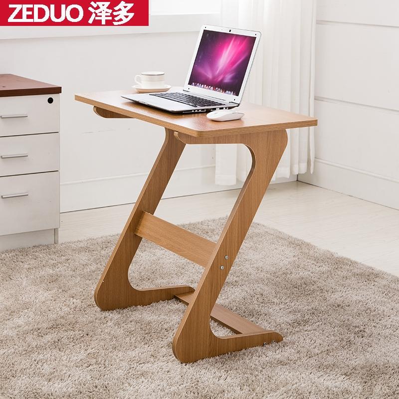 小型电脑桌台式家用单人小户型写字台简易床边桌子卧室简约小书桌