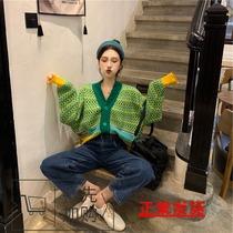 初秋女装胖mm洋气心机上衣2019大码秋季减龄显瘦针织时髦时尚开衫