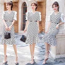 大码连衣裙中长款25至26到28女装30穿的32衣服35到40岁左右打底裙