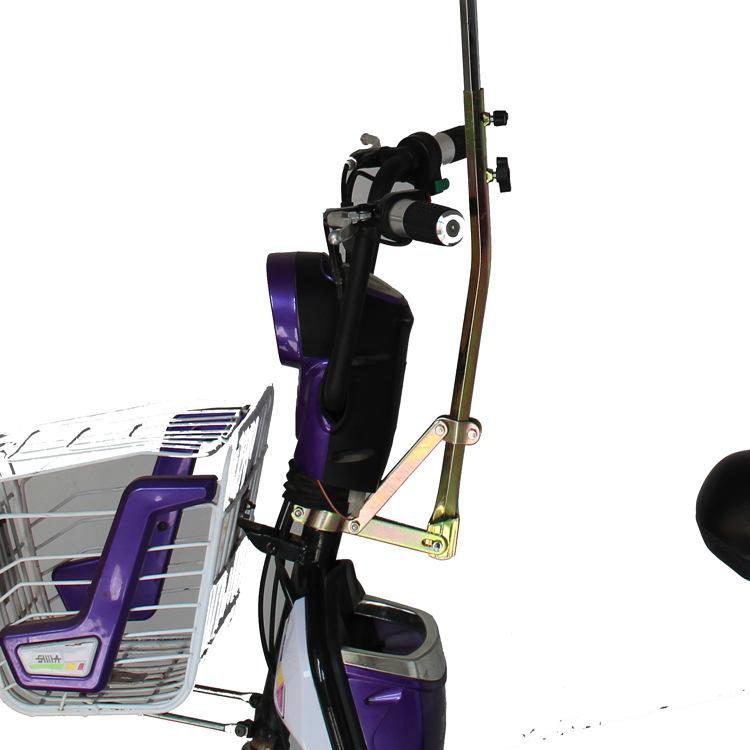 Электромобиль зонт стоять аккумуляторная батарея автомобиль электрический после переезда привод велосипед трехколесный велосипед. зонтик 3 количество стоять бесплатная доставка