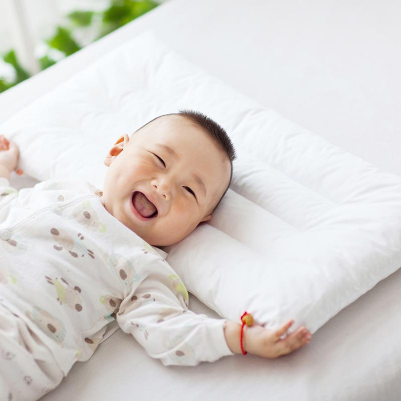 满89.90元可用50元优惠券宝宝觉觉 儿童决明子枕头枕芯四季通用婴儿0-1-3-6岁幼儿园小学生