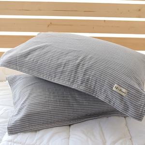 日式纯棉纱布加厚加大特价枕头巾