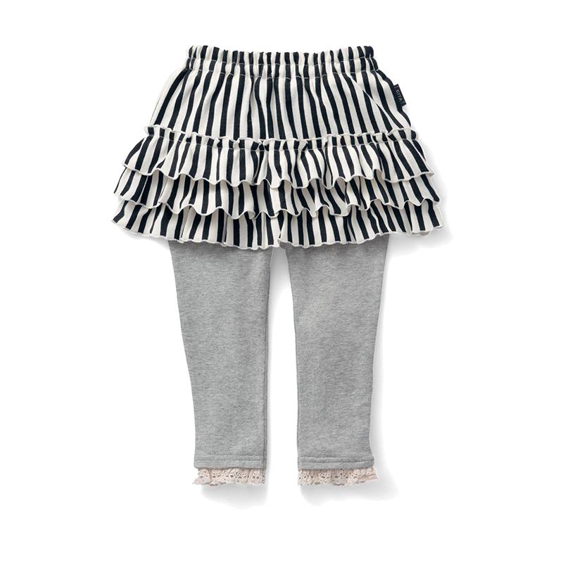 千趣會 BABY嬰兒女寶寶附裙打底褲 A75278