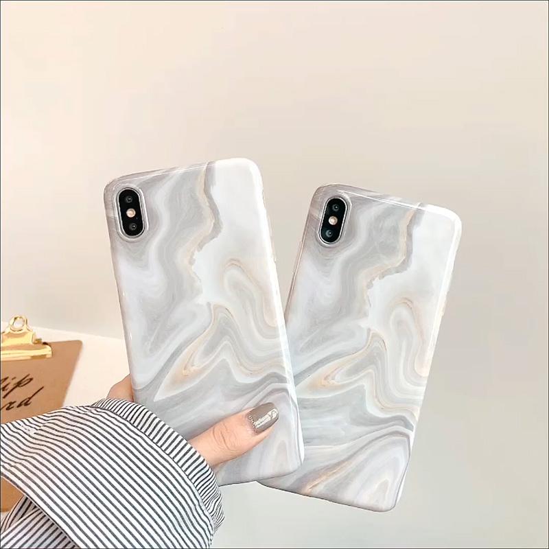 アップルX携帯ケースXRシンプル大理石iphoexr冷たい風iphone ex清新XSxsmax欧米iPhoneファッション11保護カバーproソフトシェルpro max女性8 plus