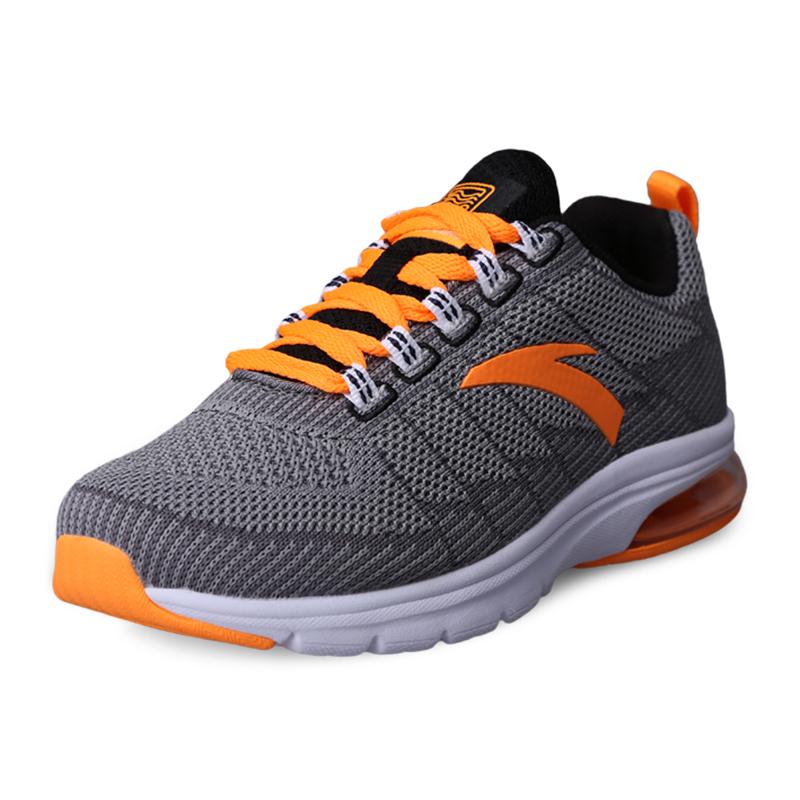 安踏童鞋 男童鞋兒童跑步鞋春秋款氣墊鞋中大童 防滑 鞋子