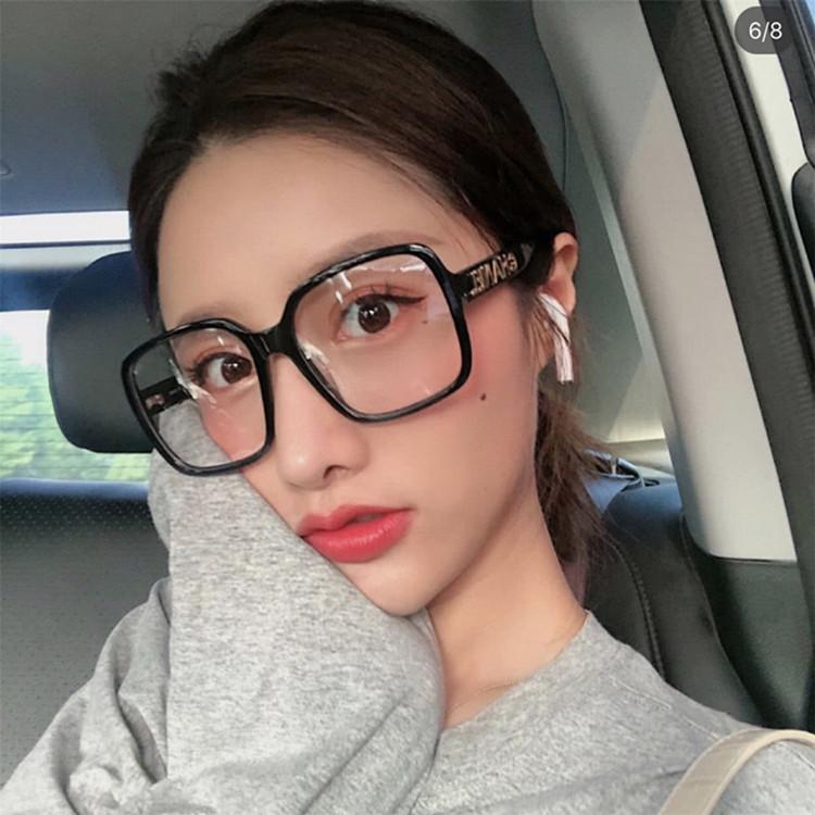 小香家女防蓝光眼镜框架大金平光镜