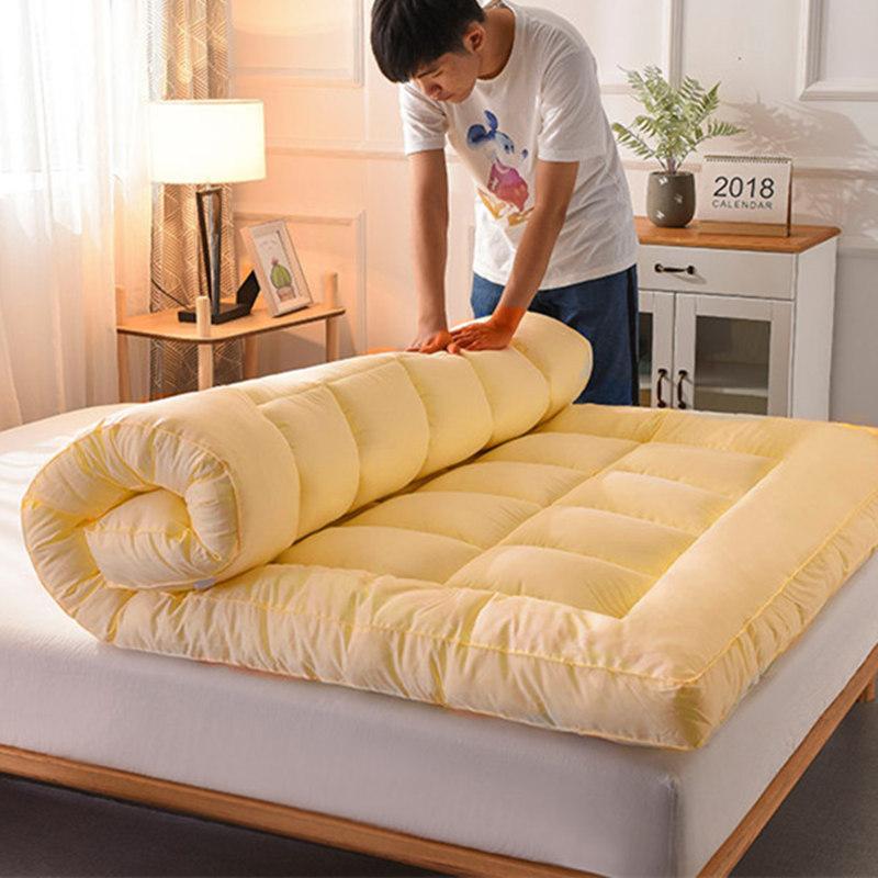加厚床垫榻榻米单人双人1.5m1.8mx2.0米褥子家用软垫学生宿舍垫被