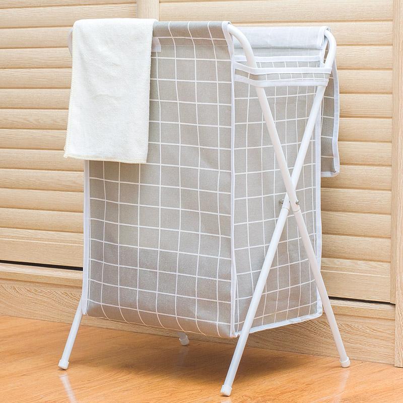 脏衣篮收纳筐篓折叠洗衣篮防水带盖大号玩具家居衣物整理桶北欧