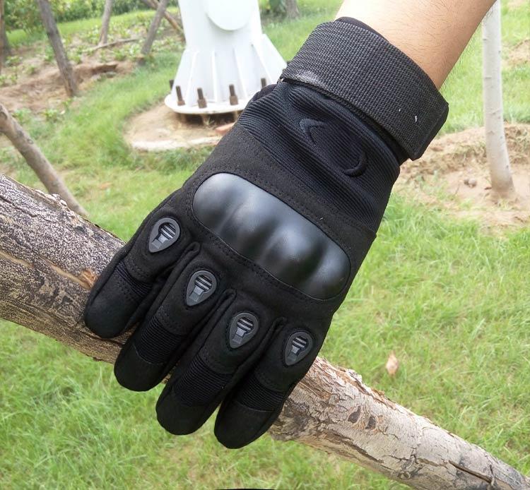 韩国 特种兵全指战术手套 健身手套黑鹰秋冬户外运动长指骑行手套