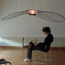 美式法式复古手工雕刻祥云玻璃吊灯轻奢卧室客厅餐厅灯具洛西可