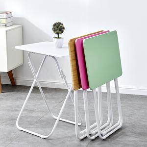 简易折叠小桌子家用学习书桌单人吃饭餐桌便携式电脑桌简约长条桌